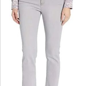 NWT and never worn! NYDJ Sheri Slim Jeans in color Gale. Size 0!